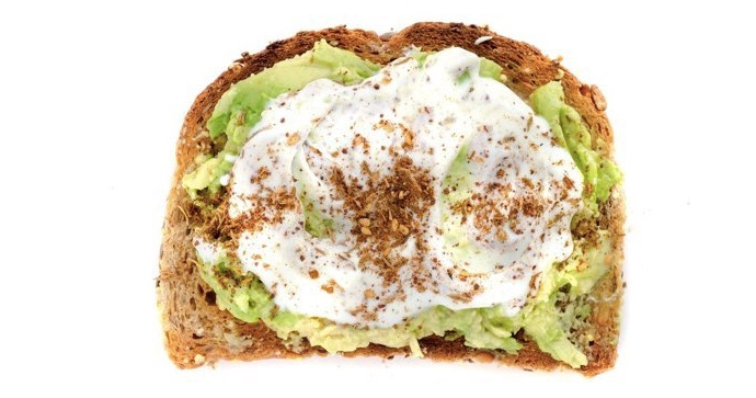 Avocado Toast + Yogurt + Spezie Za'atar
