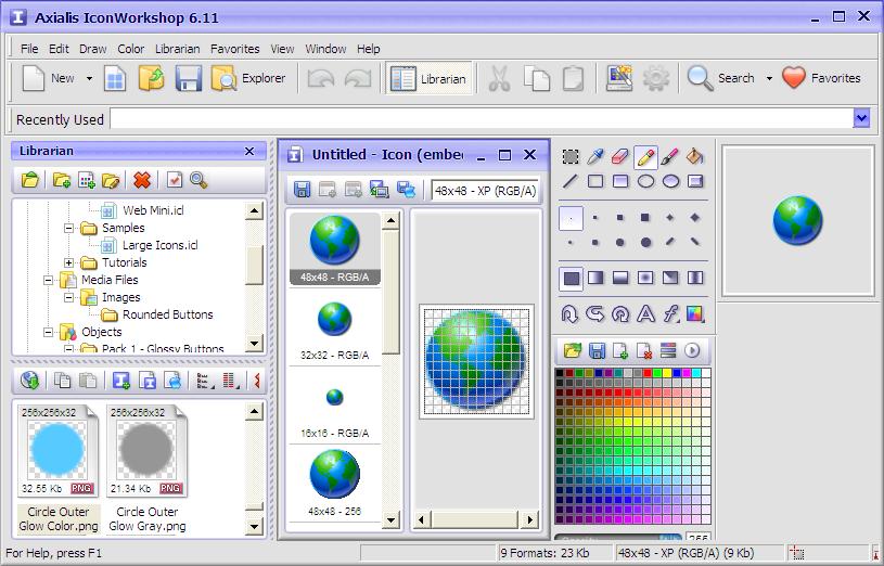 скачать программу для смены иконок: