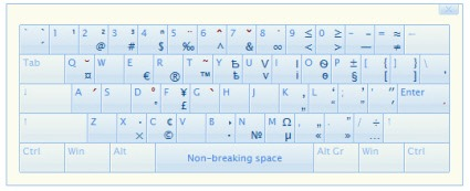 Type it Easy - программа для вставки символов с клавиатуры