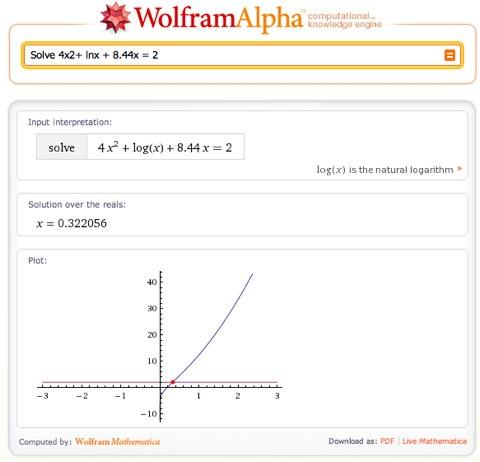 Solve 4x2+ lnx + 8.44x = 2 - Wolfram|Alpha.jpg