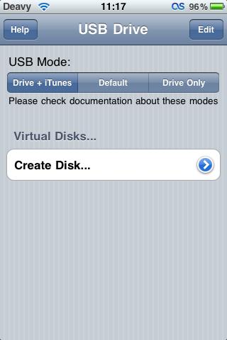 Программу для usb iphone