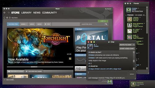 Официальный запуск игровой платформы Steam для Mac порадовал пользователей «вкусной плюшкой»