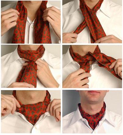 Как завязать платок, 37 способов завязывания платка, Как завязать платок...