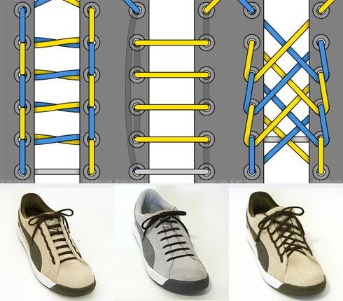 Примеры шнуровки