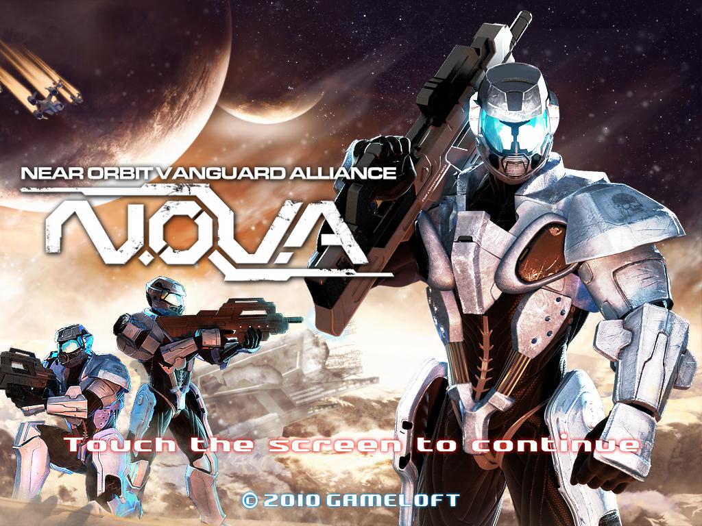 N.O.V.A. HD — достойный шутер для iPad