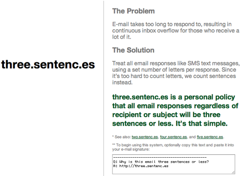 Sentenc.es - A Disciplined Way To Deal With Email.png