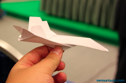 Видео как сделать самолётик фото 899