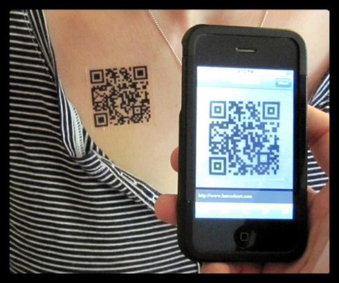 Как сделать qr код для визиток 429