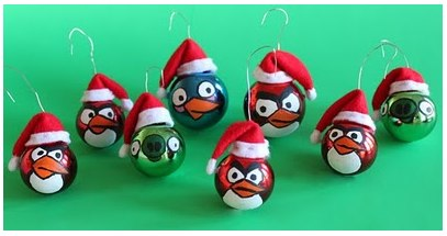 Angry Birds Ornaments