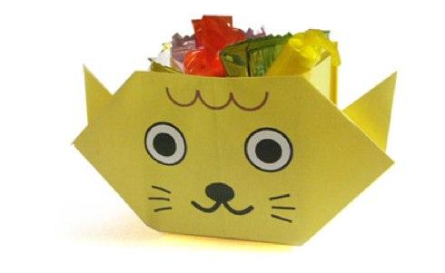 оригами на новый год