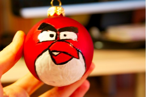 angry birds ornament3
