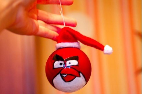 angry birds ornament8