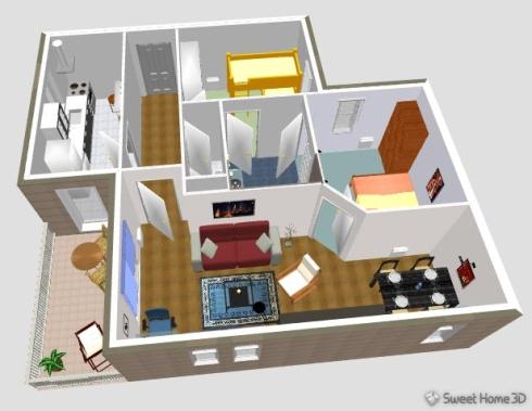 скачать бесплатно программу на русском языке для проектирования квартиры - фото 4