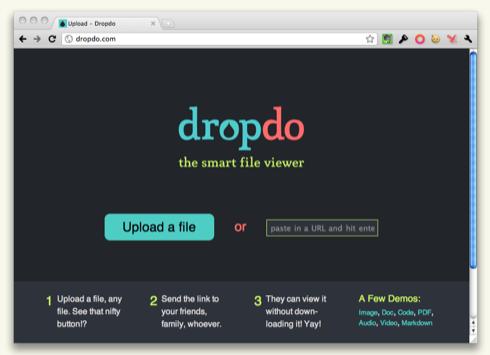 Dropdo — шаринг и умный просмотр файлов в браузере