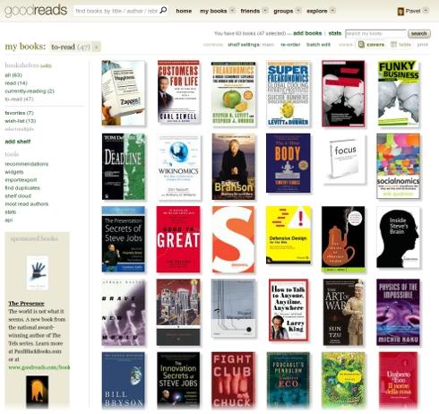 goodreads, пользователи, интересные книги, лучшие книги 2011, лучшие экранизации книг