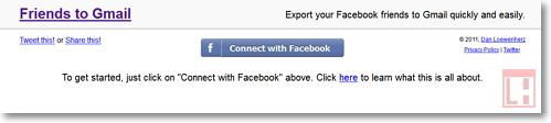 Объединяем в один список контакты из Facebook и Gmail