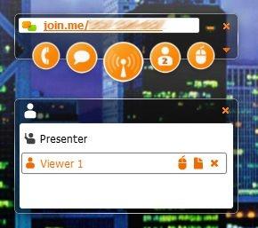 как отправить файл участнику веб-конференциии