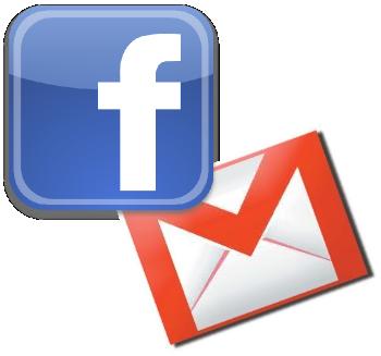 Если у вас много контактов и в Facebook, и в Gmail, то можно объединить их в один список, так будет проще найти нужного человека