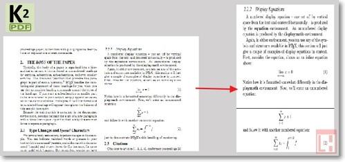 программа обрезает пустые поля, подгоняет размер страницы, форматирует текст для лучшего заполнения