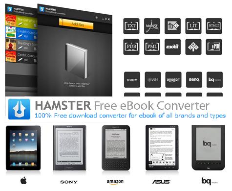 Hamster Free Book Converter: конвертируем тексты в любой формат height=390