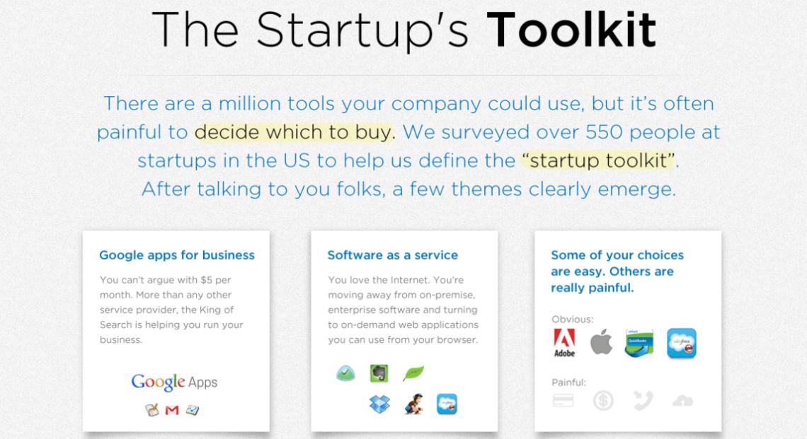 ИНФОГРАФИКА: Создаете стартап? Не тратьте деньги на инструменты!