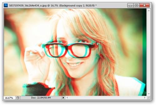 сделать фото 3d онлайн