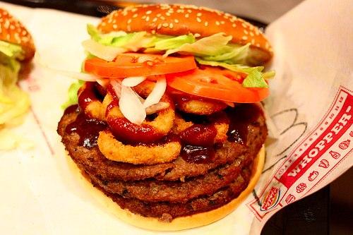 как научиться питаться здоровой пищей, гамбургер