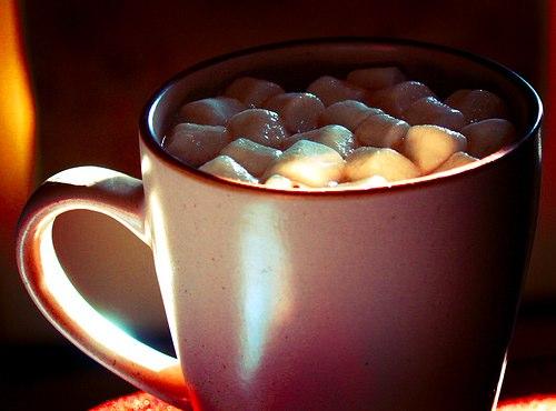 Рецепты: горячий шоколад, кружка с горячим шоколадом