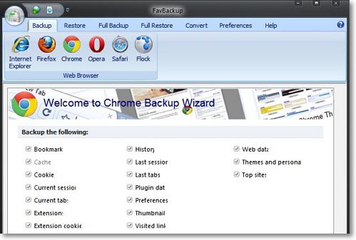Как сделать полный бэкап важных данных вашего браузера
