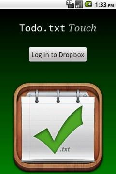 Todo.txt Touch для Android: храните ваш список дел в Dropbox