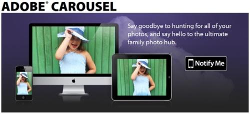 Adobe представляет сервис Carousel для iOS и Mac