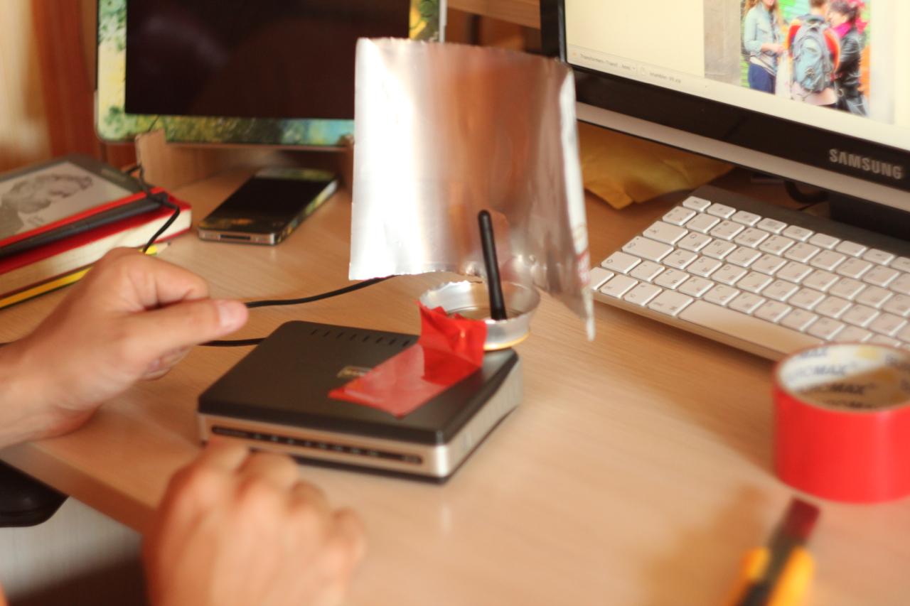 Усилитель для вай фай на ноутбук своими руками