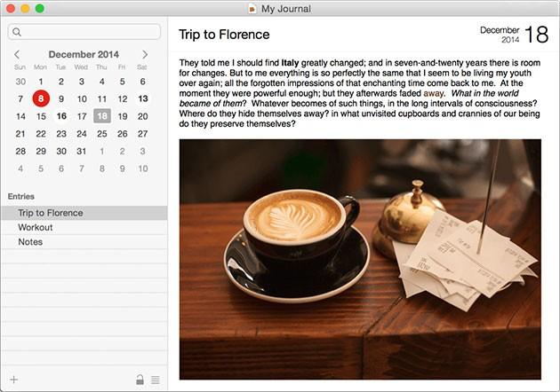 Программа для ведения личного дневника