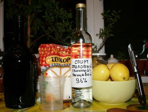 Limoncello, итальянский ликер, приготовить самостоятельно