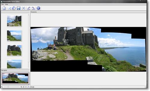 Как из фото сделать панорамное фото
