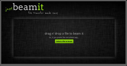 justBeamit: обмен файлами без ограничений