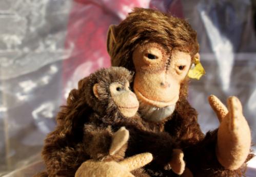 две обезьянки, что делать, когда не хочется ничего делать