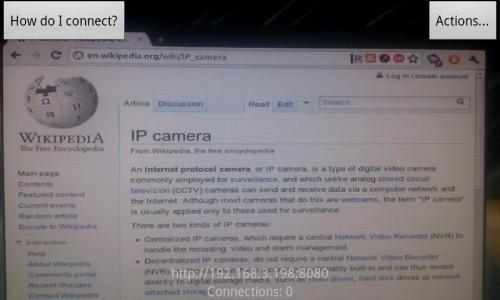 Как из веб камеры сделать камеру видеонаблюдения? Скрытое