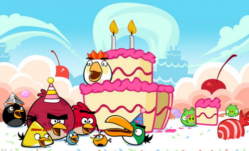 Angry Birds стукнуло 2 года