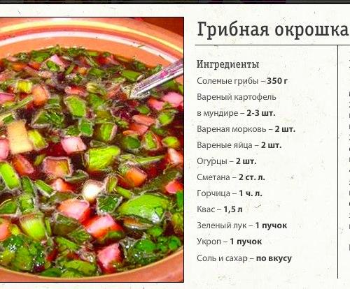 Как сделать вкусную окрошку на квасе