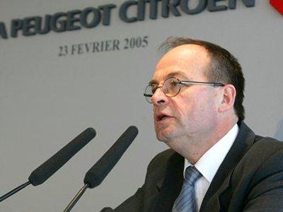 Жан-Мартин Фольц (Jean-Martin Folz), бывший гендиректор Peugeot