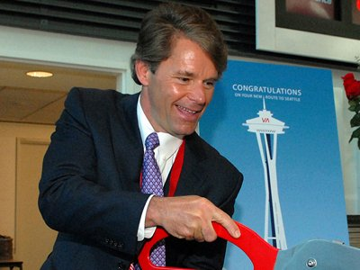 Дэвид Каш (David Cush), глава Virgin America