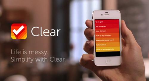 Clear — свежий взгляд на списки дел