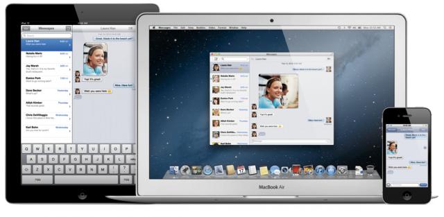 Apple анонсировала новую версию Mac OS X — 10.8 Mountain Lion