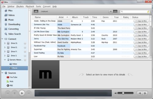 Обзор аналогов iTunes для Android, часть 2