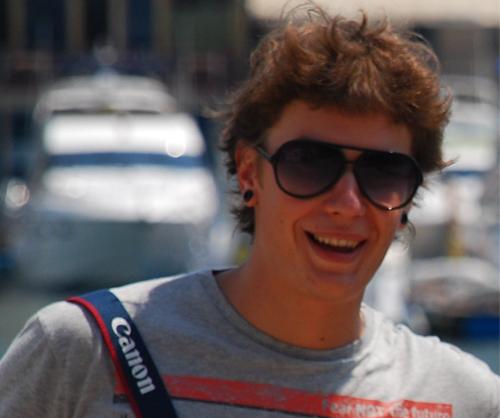 Рабочие места: Андрей Мосин, веб-девелопер, пользователь Ubuntu и любитель виниловой музыки
