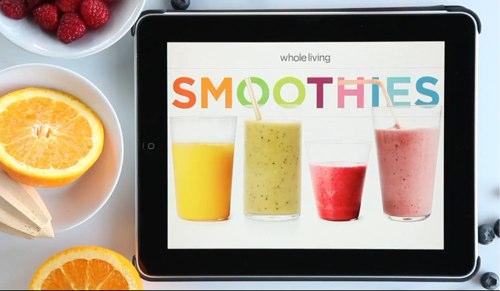 Smoothies — приложение от Whole Living для полезных рецептов