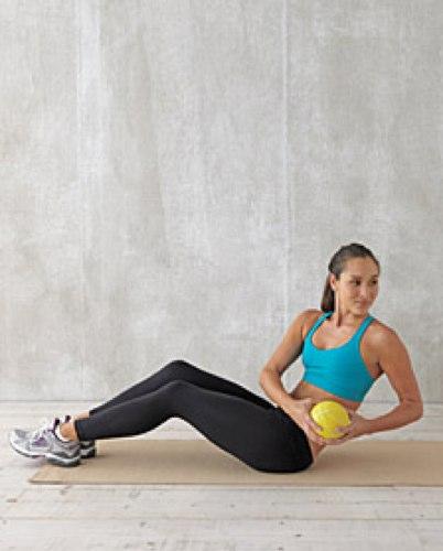 как правильно качать боковые мышцы живота