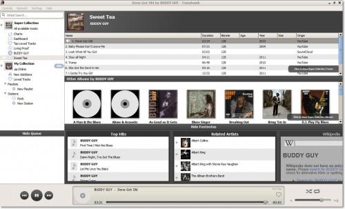 удобный аудиоплеер, который найдет для вас любую музыку