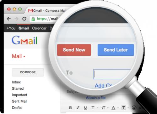 Как запланировать отправку письма в Gmail на любое время